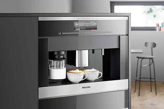 miele cm6 black edition kaffeemaschine. Black Bedroom Furniture Sets. Home Design Ideas
