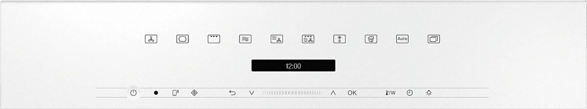 MIELE Kompakt Backofen mit Mikrowelle Brillantweiß H 7240 BM