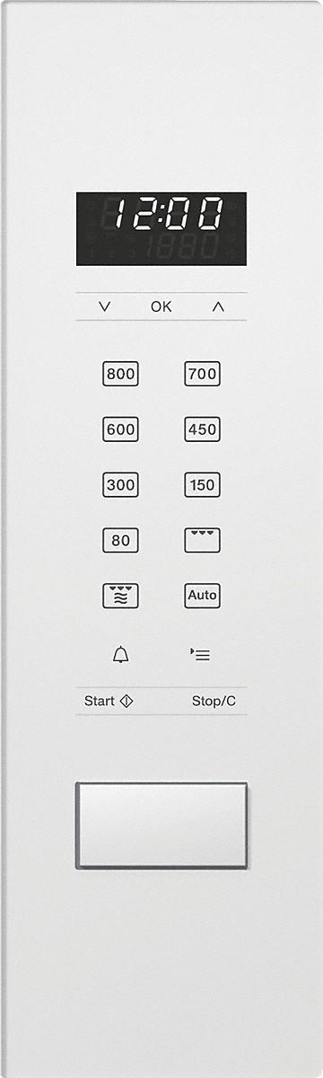 MIELE Einbau Mikrowelle M 2234 SC Weiß