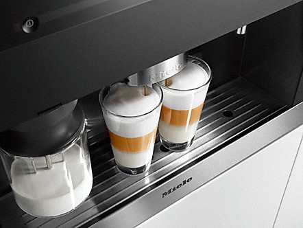 Einbau Kaffeevollautomaten miele einbau kaffeevollautomaten