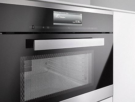 komfortables entkalkungsprogramm dampfgarer mit mikrowelle. Black Bedroom Furniture Sets. Home Design Ideas