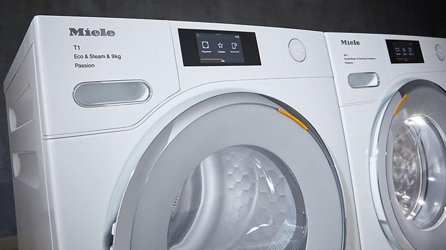miele waschmaschinen trockner und b gelstationen. Black Bedroom Furniture Sets. Home Design Ideas