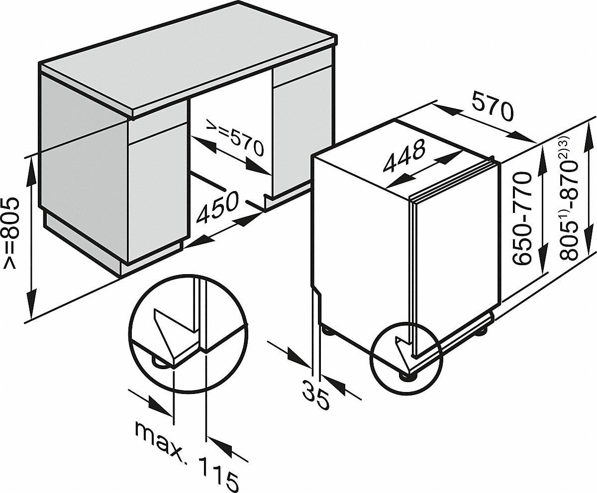 miele g 6890 scvi k2o vollintegrierter geschirrsp ler. Black Bedroom Furniture Sets. Home Design Ideas