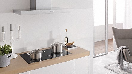 f r jede raumsituation die passende betriebsart downdraft dunstabzug. Black Bedroom Furniture Sets. Home Design Ideas