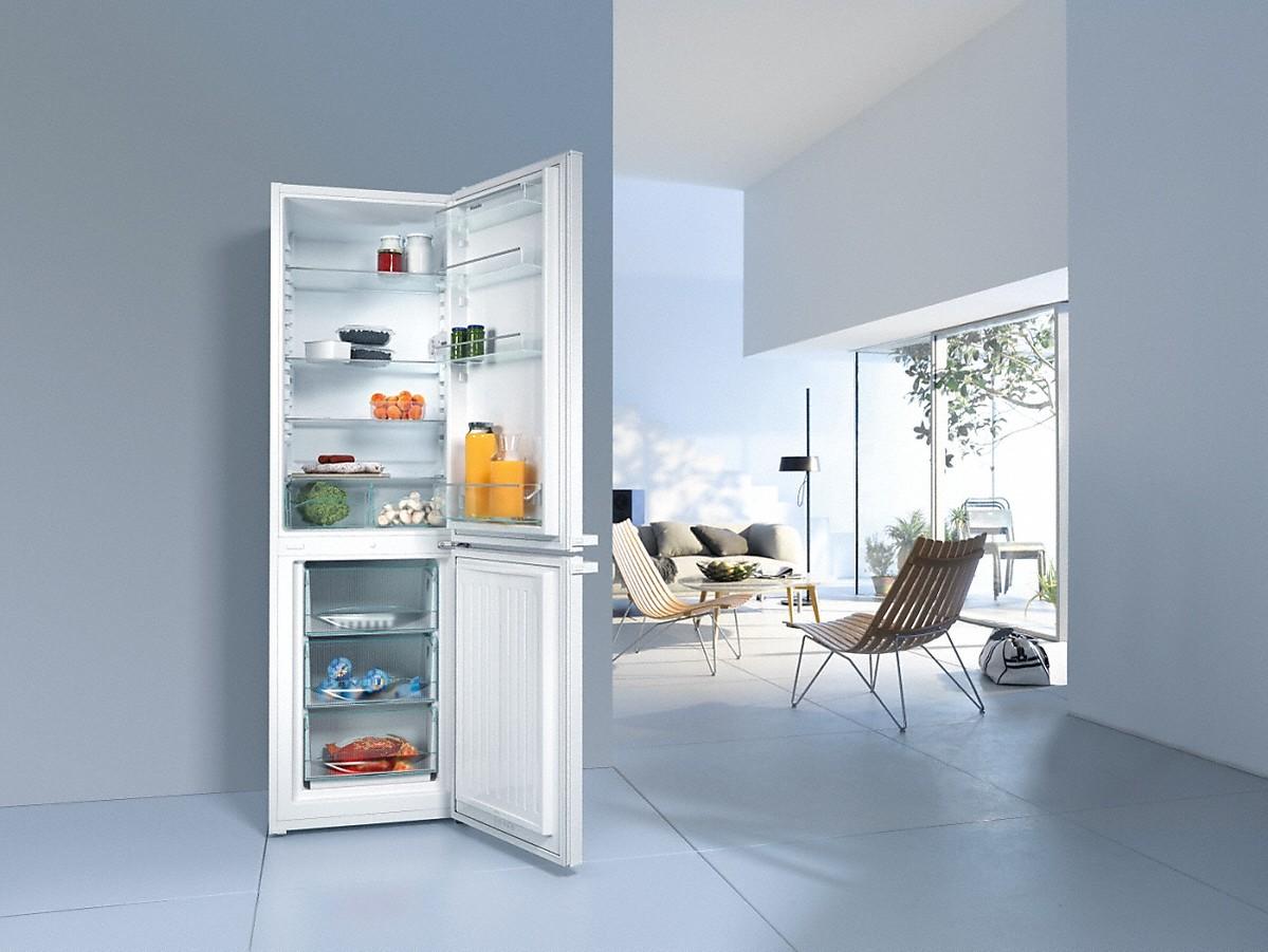 miele kd 28052 stand k hl gefrierkombination. Black Bedroom Furniture Sets. Home Design Ideas