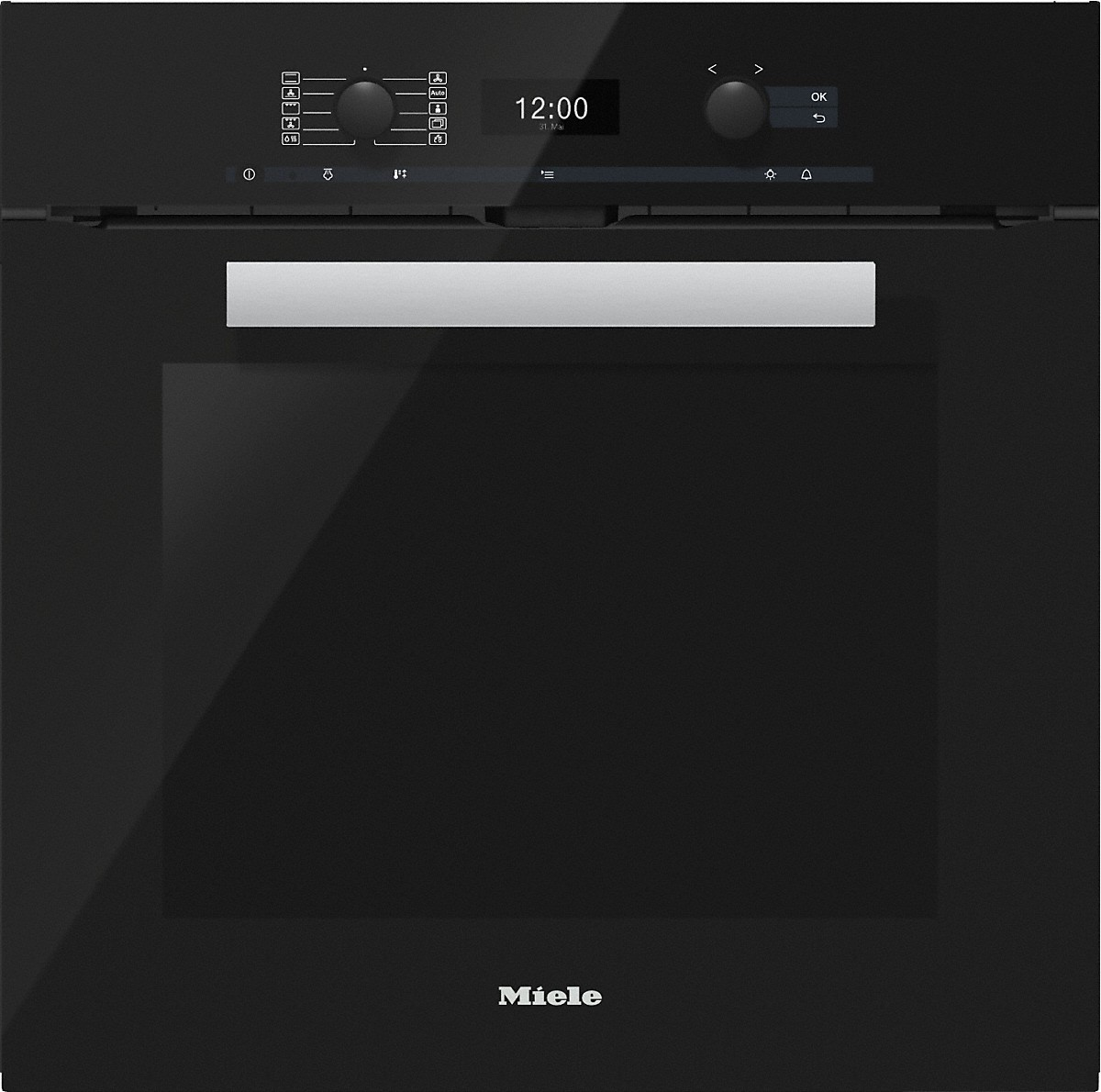 miele herde und back fen h 6460 bp backofen. Black Bedroom Furniture Sets. Home Design Ideas