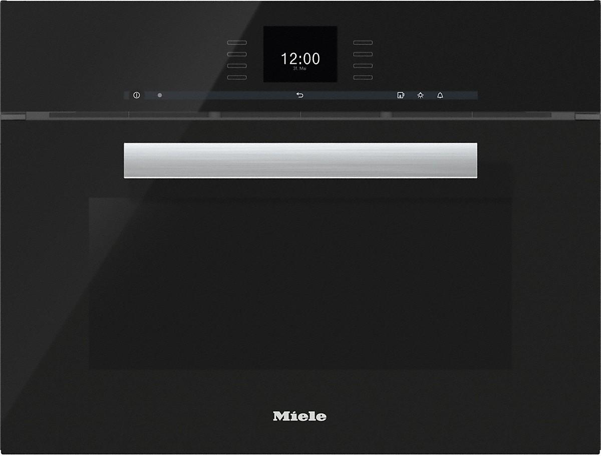 miele dgc 6600 dampfgarer mit vollwertiger backofenfunktion xl. Black Bedroom Furniture Sets. Home Design Ideas