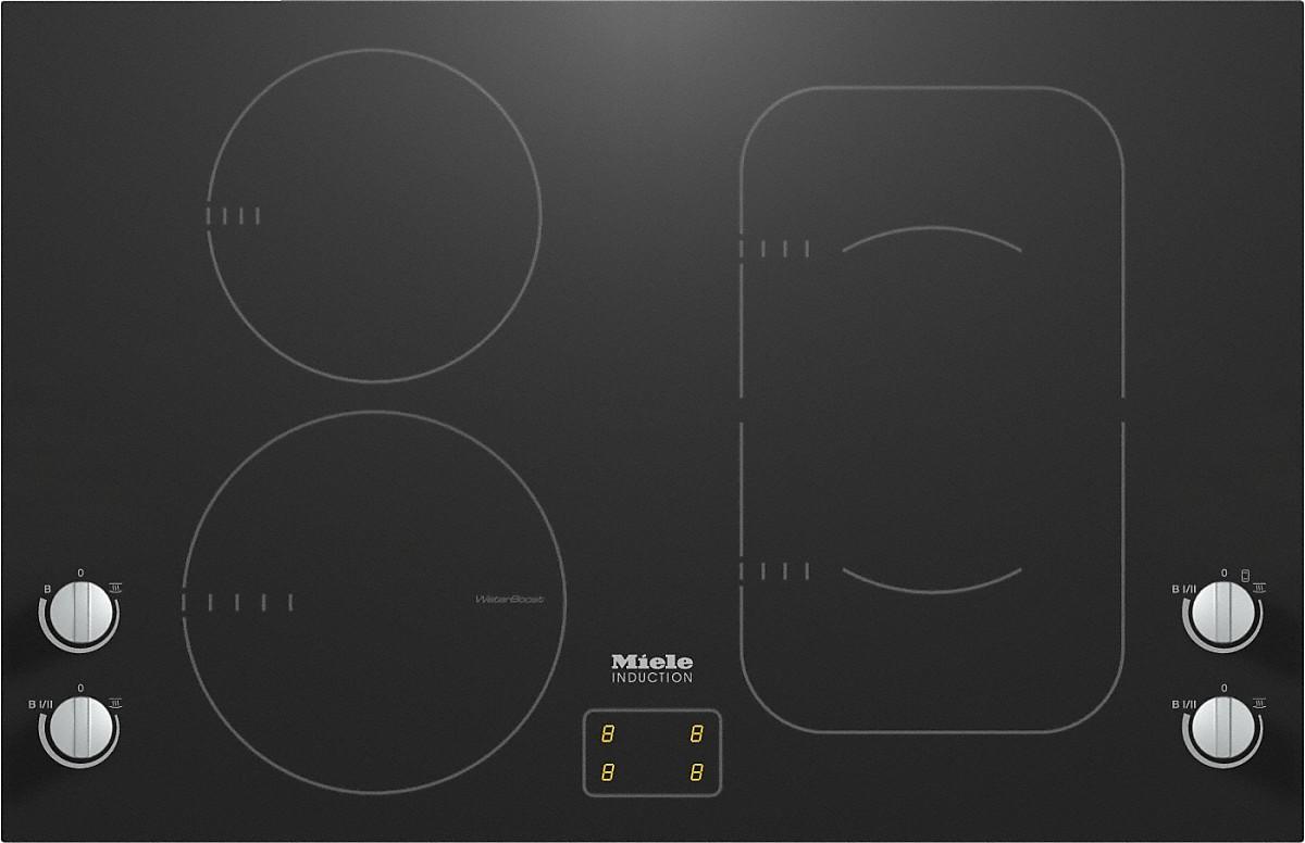 miele km 6364 1 herdunabh ngiges induktionskochfeld. Black Bedroom Furniture Sets. Home Design Ideas