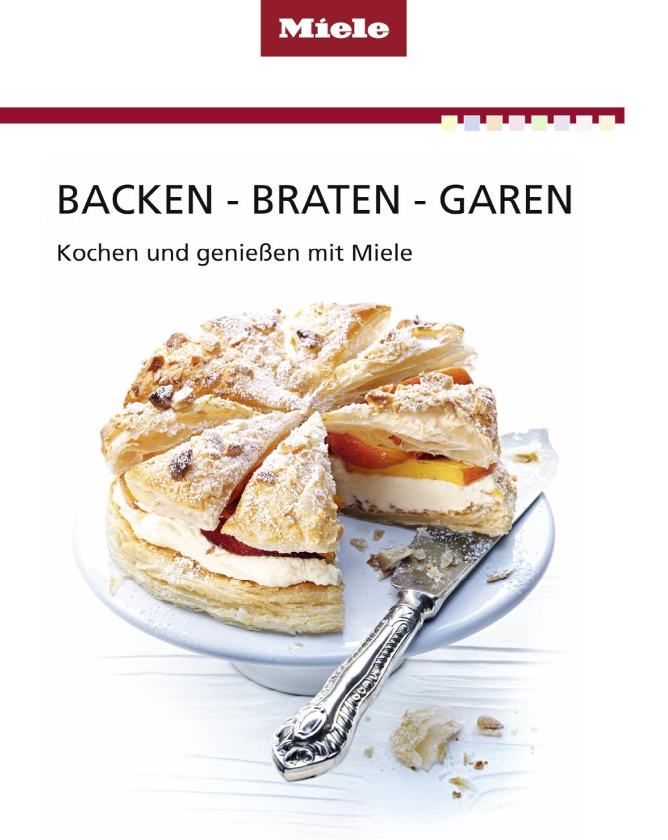 Miele kbbbg miele kochbuch backen braten garen for Kochbuch backen