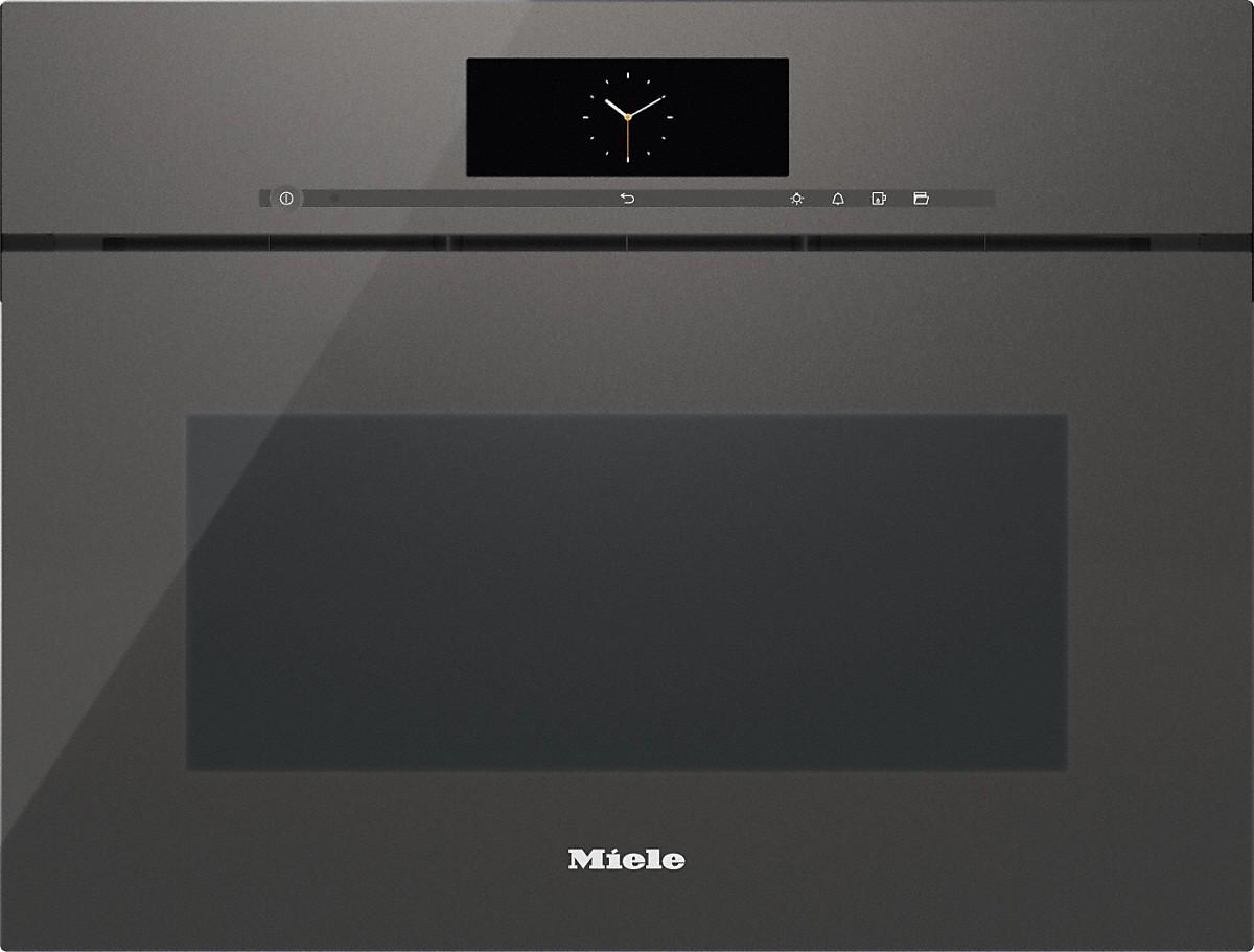 miele dgc 6800x griffloser dampfgarer mit vollwertiger backofenfunktion xl. Black Bedroom Furniture Sets. Home Design Ideas