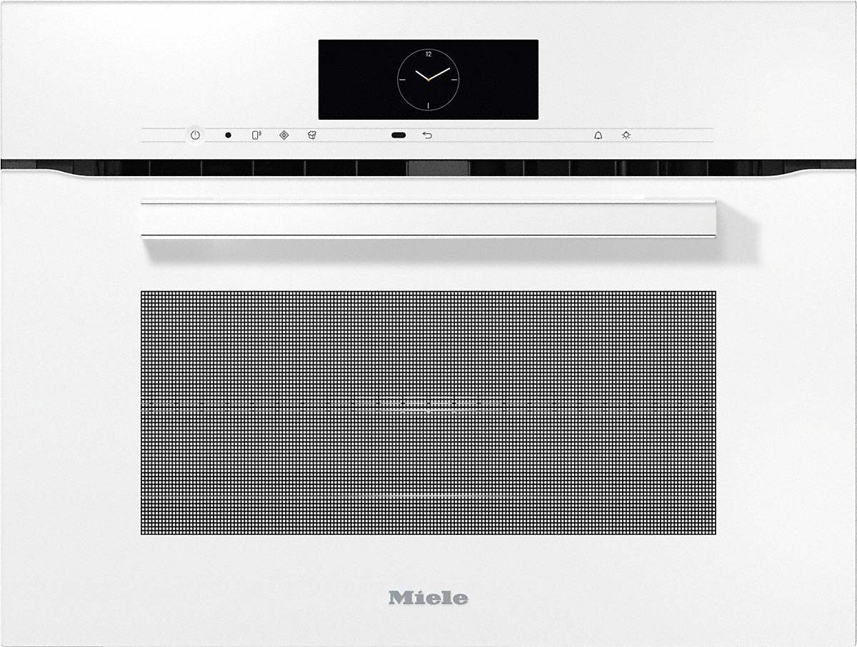 MIELE Kompakt Backofen mit Mikrowelle H 7840 BM Weiß