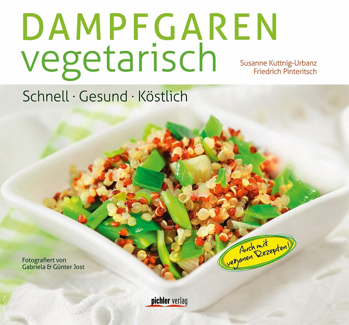 """Miele KBDGV Kochbuch """"Dampfgaren vegetarisch"""""""