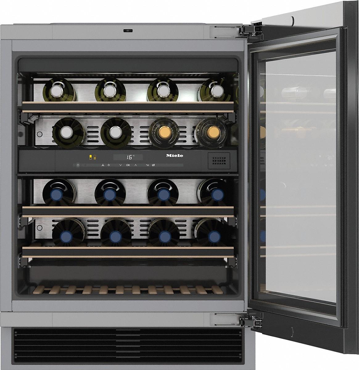Miele KWT 6322 UG Unterbau-Weintemperierschrank